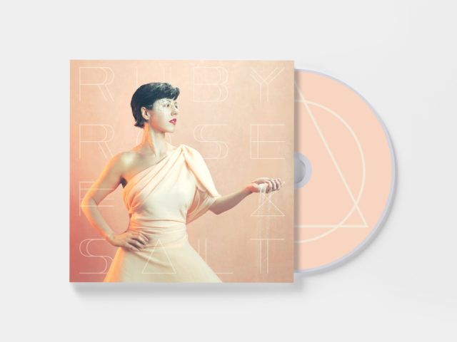 "Mockup of Ruby Rose Fox's ""Salt"" - CD edition"
