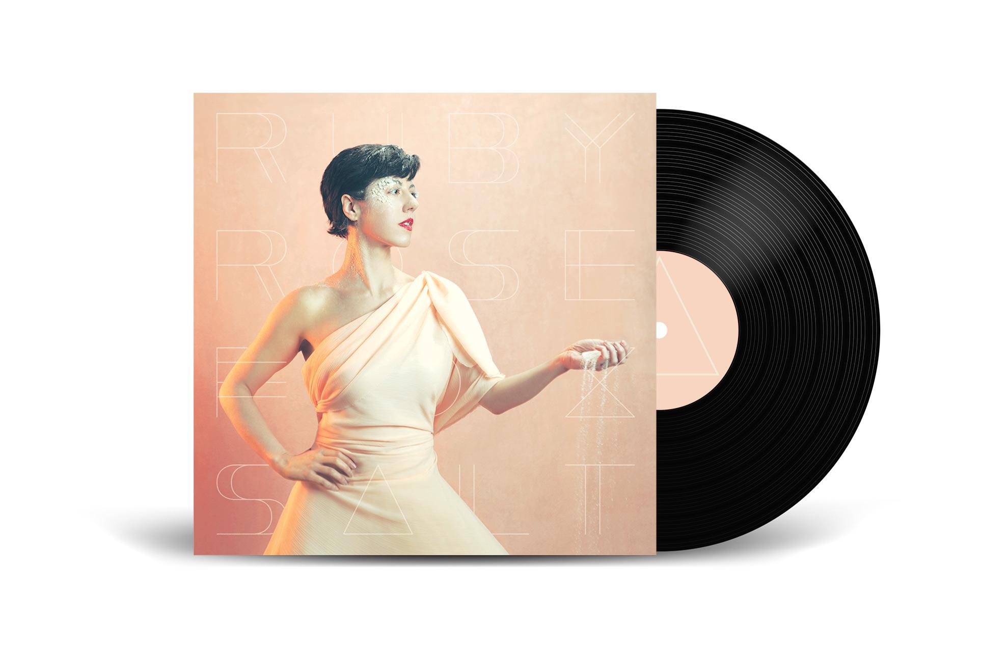 "Mockup of Ruby Rose Fox's ""Salt"" - Vinyl edition"