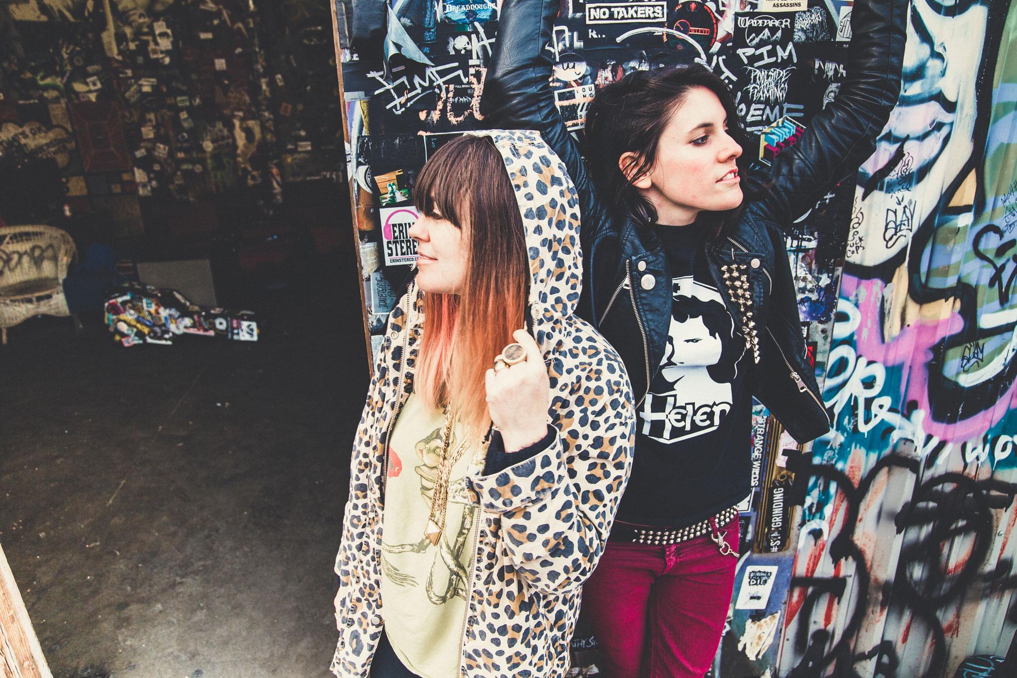 Vanessa and Carissa