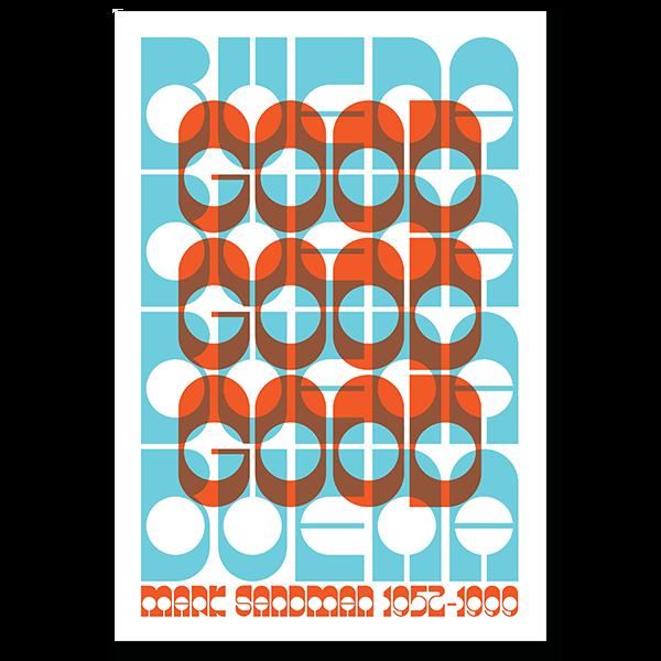 Mark Sandman Tribute Poster