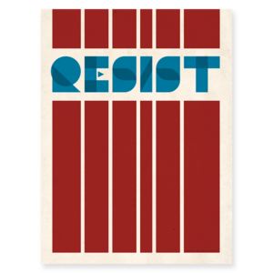 Resist Protest Poster
