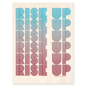 Rise Up Protest Poster