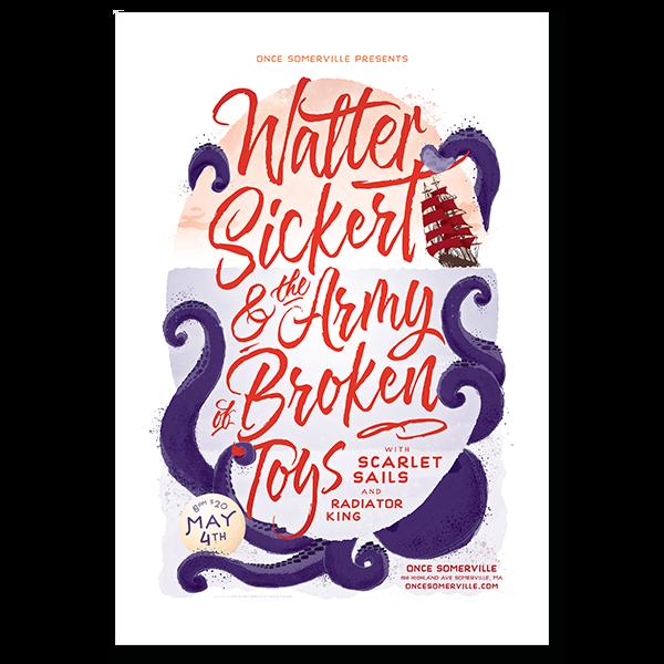 Walter Sickert & The Army of Broken Toys